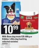 Milk-bone Dog Treats - 535-688 G Or Kibbles 'N Bits Dog Food - 6 Kg