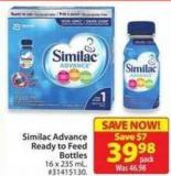 Similac Advance Ready-to-feed Bottles