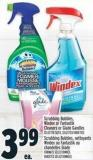 Scrubbing Bubbles - Windex Or Fantastik Cleaners Or Glade Gandles