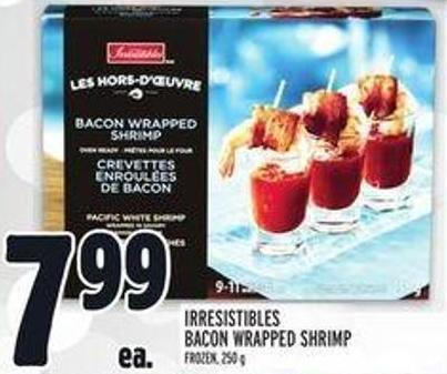 Irresistibles Bacon Wrapped Shrimp