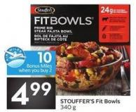 Stouffer's Fit Bowls 340 g - 10 Air Miles Bonus Miles