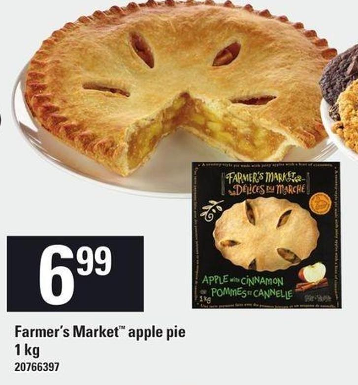 Farmer's Market Apple Pie