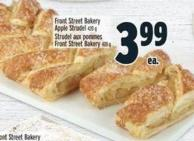 Front Street Bakery Apple Strudel