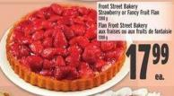Front Street Bakery Strawberry Or Fancy Fruit Flan