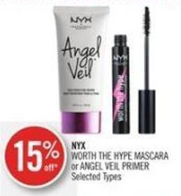 Nyx Worth The Hype Mascara or Angel Veil Primer