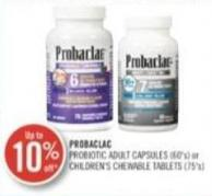 Probaclac Adult Capsules (60's) or Children's Chewable Tablets (75's)