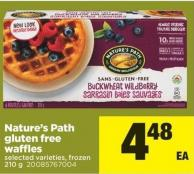 Nature's Path Gluten Free Waffles - 210 g