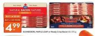 Schneiders - Maple Leaf or Ready Crisp Bacon 65-375 g