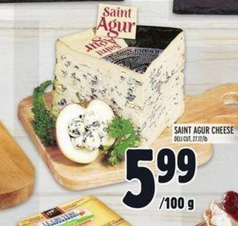 Saint Agur Cheese