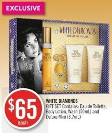 White Diamonds  Body Lotion - Wash (50ml) and Deluxe Mini (3.7ml)