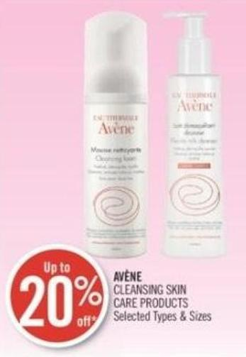 Avène Cleansing Skin Care Products