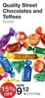 Quality Street Chocolates and Toffees