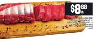 Whole Beef Tenderloin Cut From Canada Aa Or Usda Select Grade Beef Or Higher - Cryovac Pkg