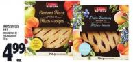 Irresistbles Pies Orchard Fruit Or Peach Blueberry 750 G