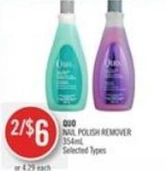 Quo Nail Polish Remover 354ml