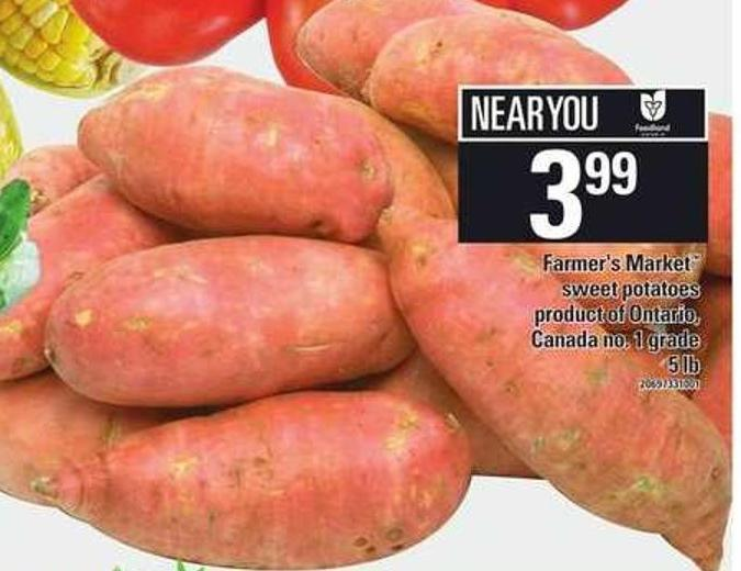 Farmer's Market Sweet Potatoes - 5 Lb