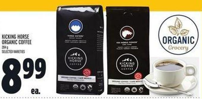Kicking Horse Organic Coffee