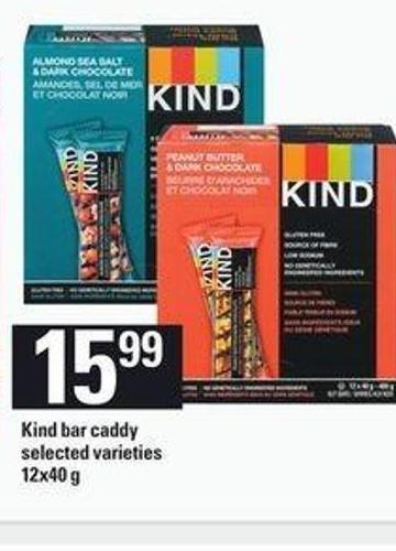 Kind Bar Caddy - 12x40 G