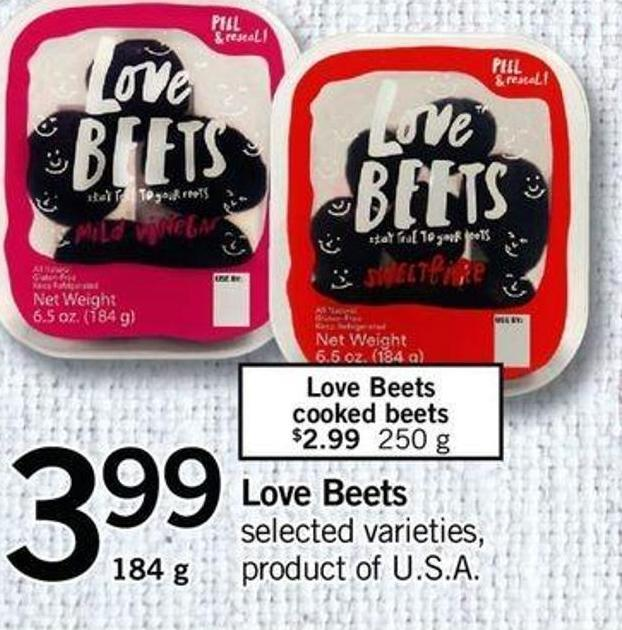 Love Beets - 184 g