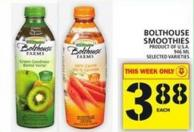Bolthouse Smoothies