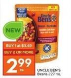 Uncle Ben's Beans 227 mL