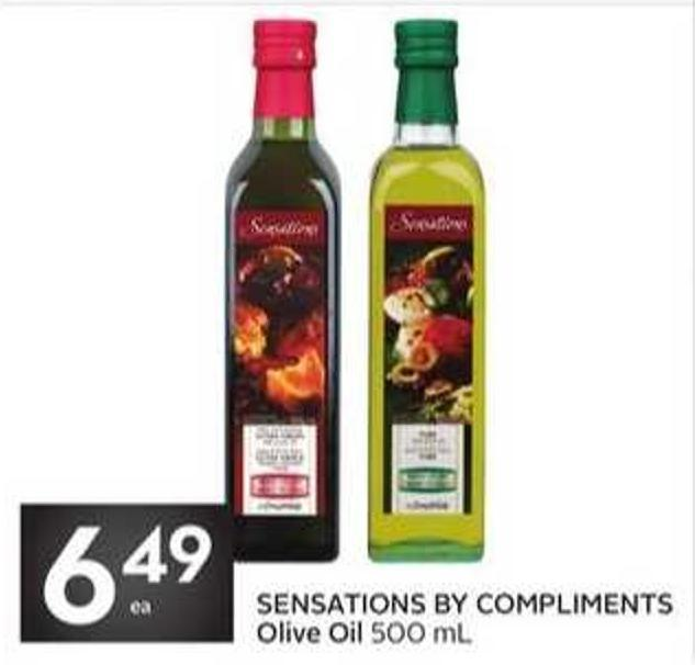 Sensations By Compliments Olive Oil