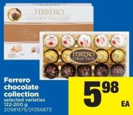 Ferrero Chocolate Collection - 122-200 g