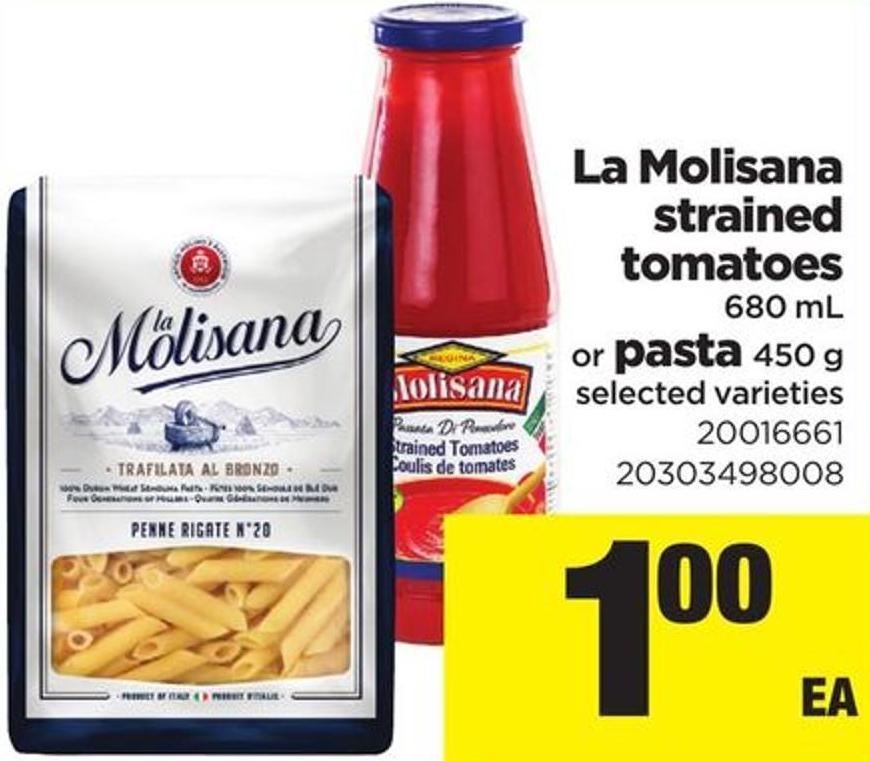 La Molisana Strained Tomatoes - 680 Ml Or Pasta - 450 G