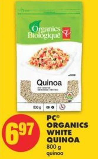 PC Organics White Quinoa - 800 g
