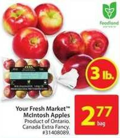 Your Fresh Market Mcintosh Apples