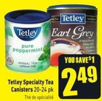 Tetley Specialty Tea