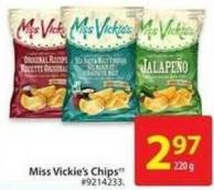 Miss Vickie's Chips