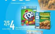 Select Nature Valley Bars - 130-230 G Fruit By The Foot Snacks - 128 G