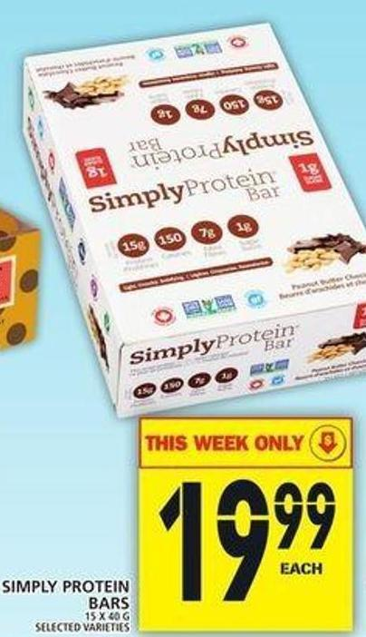 Simply Protein Bars