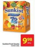 Sunkist Fruit Snacks