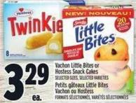 Vachon Little Bites Or Hostess Snack Cakes