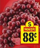 California Red Seedless Grapes