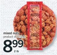 Mixed Nuts - 2 Lb