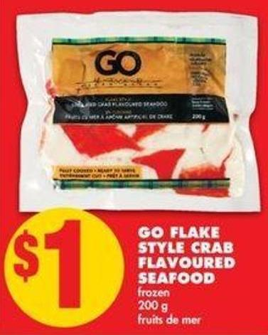 Go Flake Style Crab Flavoured Seafood - 200 g