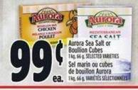 Aurora Sea Salt Or Boullion Cubes 1 Kg - 66 g