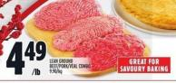 Lean Ground Beef/pork/veal Combo
