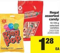 Regal Assorted Candy - 10-135 g