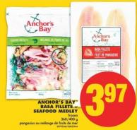 Anchor's Bay Basa Fillets or Seafood Medley - 360/400 g
