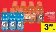 Gatorade Sport Drinks - 6x591 mL or 8x355 mL