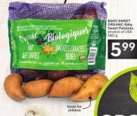 Bako Sweet Organic Baby Sweet Potatoes