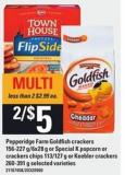 Pepperidge Farm Goldfish Crackers - 156-227 G/6x28 G Or Special K Popcorn Or Crackers Chips - 113/127 G Or Keebler Crackers - 260-391 G