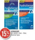Hydrasense Eye Drops 10 Ml- 20 Ml