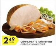 Compliments Turkey Breast