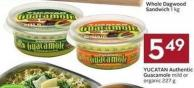 Yucatan Authentic Guacamole Mild or Organic 227 g