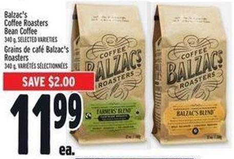 Balzac's Coffee Roasters Bean Coffee